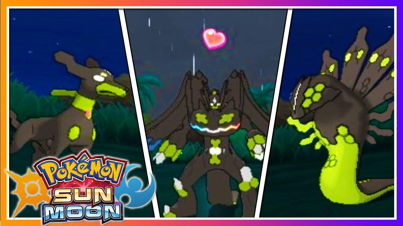 Pokémon Sun & Moon: HOW TO CHANGE ZYGARDE'S FORMS! - YouTube