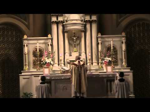 Traditional Latin Mass at Star of the Sea: First Friday (Sept. 6, 2013)
