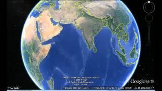 Sri Lanka Google Earth View