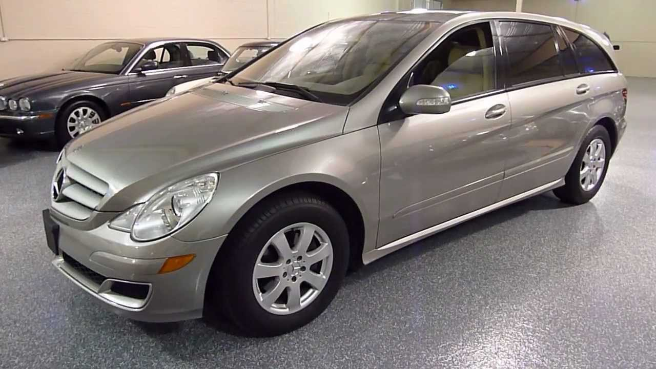 2006 mercedes benz r350 4matic 4dr sold 2221 youtube