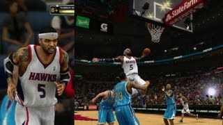 NBA 2K13 My Career - Mean Triple Double vs. J. Smoove