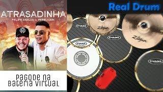 Baixar Pagode na bateria virtual 🎶 Atrasadinha - Felipe Araújo e Ferrugem🎶 Nilkson Drummer