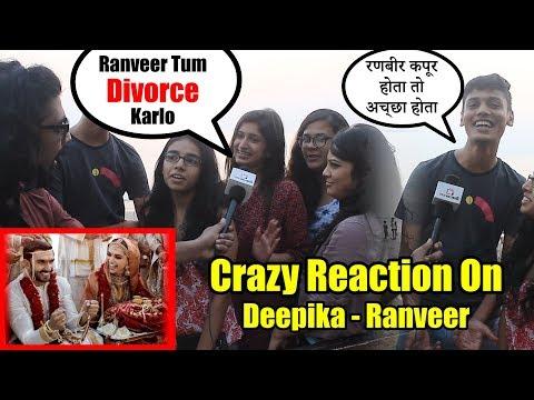 Public Reaction On Deepika Padukone And Ranveer Singh Wedding | RANBIR HOTA Toh Accha Hota