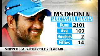 Is Dhoni the greatest finisher of them all?