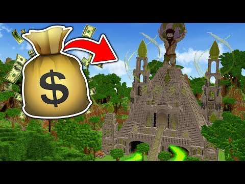I BOUGHT THE WORLDS BEST MINECRAFT MAPS!!
