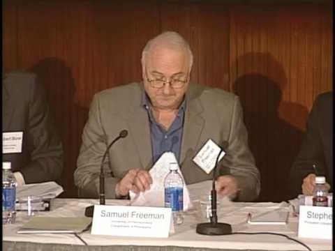 Justice for Hedgehogs: Professor Samuel Freeman