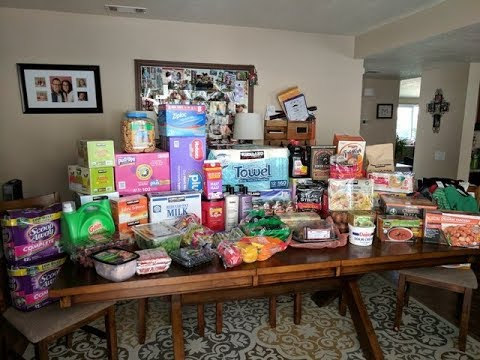 Huge Grocery Haul (Costco and Ralphs-$942+Meal plan)