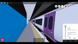 Roblox New Mind a classe Gap 345 MTG REGIONAL Etherley para Westport via Dellgate Crossrail