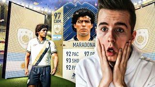 MARADONA 97 PRIME PACK AND PLAY! NAGRODY ZA FUT CHAMPIONS! | FIFA 18