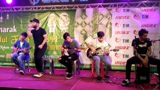 Ror band live at index taipei main station - asal kau bahagia