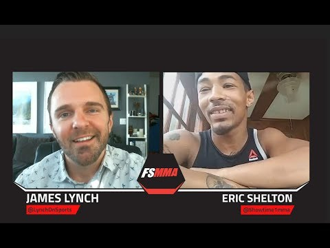 Eric Shelton Feels His Speed With Be The Difference Against Alex Perez
