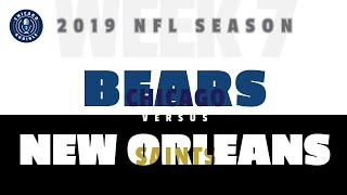 Game Preview: Chicago Bears - New Orleans Saints (Week 7)