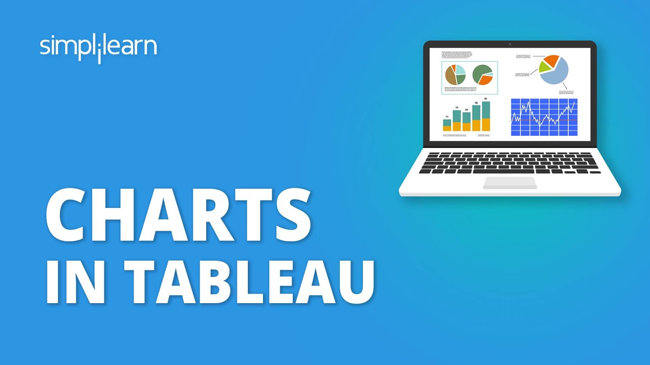 Charts In Tableau | Tableau Charts Tutorial | How To Create Charts In Tableau