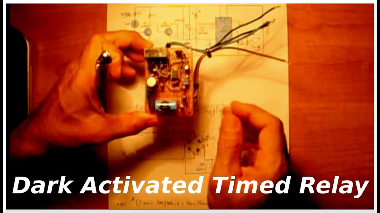 Dark Activated Relay Circuit Hqewnet