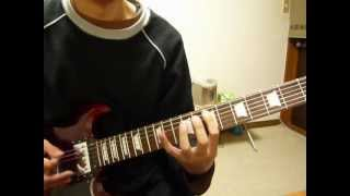 Paul Gilbert「Space Ship One」をギターで弾いてみた