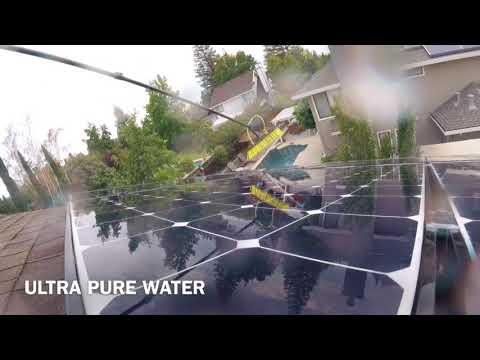 Solar panel cleaning - True Light Solar