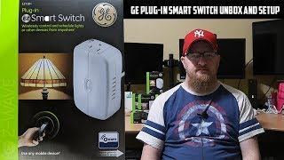 12719 GE Plug-In EZ Smart Switch Unbox and Set up