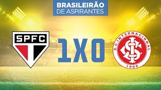 Melhores Momentos - São Paulo 1 x 0 Internacional - Brasileirão de Aspirantes