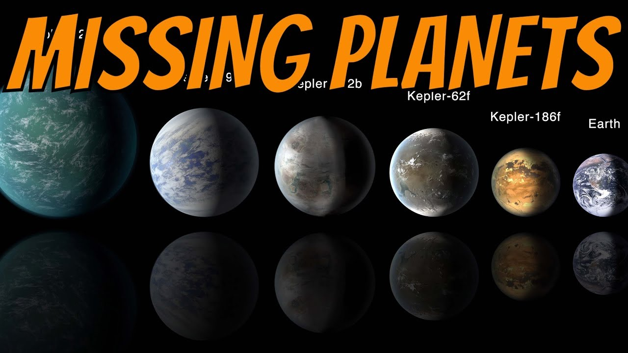 Missing Planets That Disappeared From Our Solar System Youtube