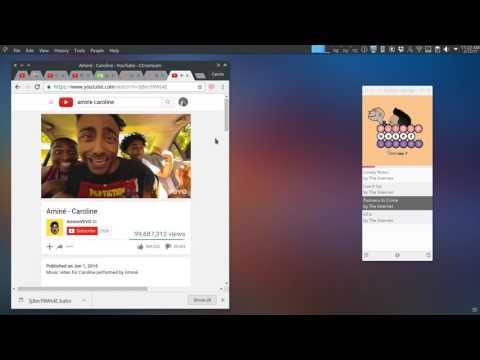 Babe Qt Music player progress - Chrome extension demo