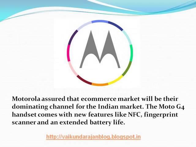 Thumbnail for Vaikundarajan On Motorola's New Smartphone Devices