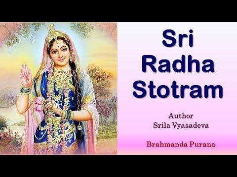 Sri Radha Stotram | Most Merciful Srimati Radharani | Srila Vyasadeva | Yashoda Kumar Dasa