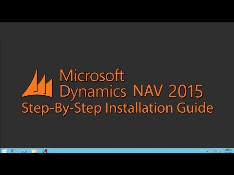 Microsoft Dynamics NAV 2015 Installation