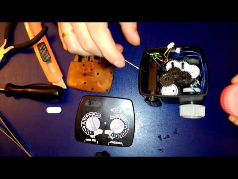 Reparar teporizador programador de riego