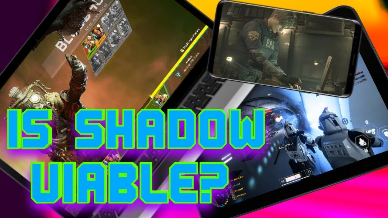 Shadow Tech Cloud Service REVIEW   PC Gaming WITHOUT A Computer   Rewind  Mike