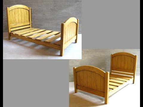 112th Scale Single Bed Tutorial