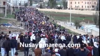 'Öcalan'a Özgürlük' İçin Cizre'den Diyarbakır'a Yürüyüş Nusaybin'e Ulaştı