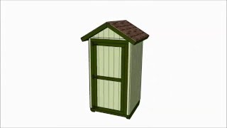 Small Storage Shed Plans