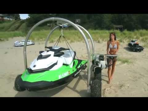 Beach Rover - The Best Alternative to the Jet Ski Beach Dolly