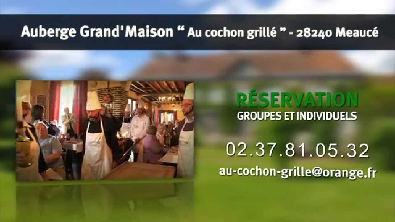 Auberge grand maison au cochon grill youtube for Auberge grand maison