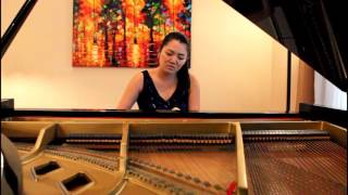 Esther Shin Chuang Plays Bolcom Serpent's Kiss from the Garden of Eden Suite