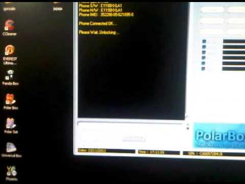 liberacion de samsung E1190 con polar box