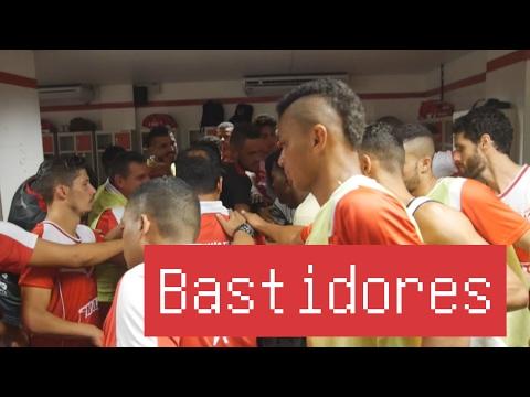 Bastidores de Sergipe 1x0 América RN - Copa do NE - 04/02/2017