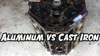 Aluminum VS Iron - LS Engine Weight Comparison