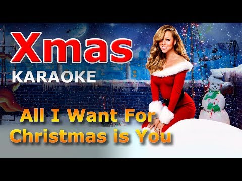 Mariah Carey - All I Want For Christmas is You KARAOKE with Lyrics