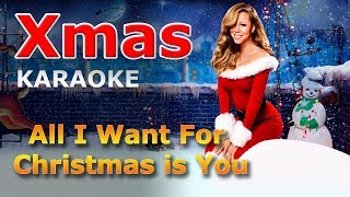 Mariah Carey - All I Want For Christmas is You KARAOKE with Lyrics Video