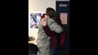 Airman/Soldier/Sister homecoming