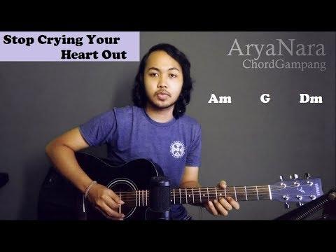 Chord Gampang (Stop Crying Your Heart Out - Oasis) by Arya Nara (Tutorial Gitar) Untuk Pemula