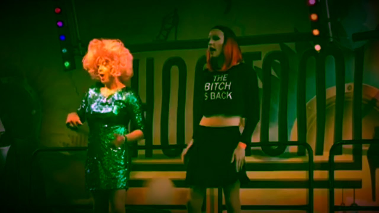 Zwarte lesbische shows