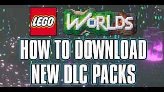 LEGO WORLDS - How To Download DLC Packs - LEGO Agents DLC - LEGO Games