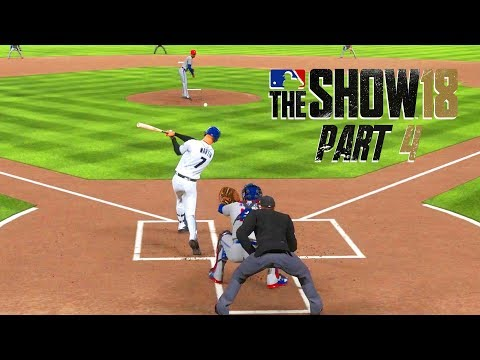 MLB 18 Road to the Show - Part 4 - BIG PLAYS