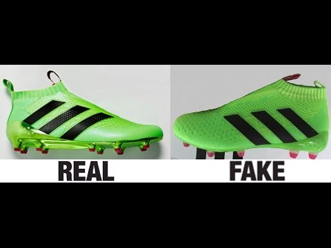 cbb1f0af3a8 How To Spot Fake Adidas ACE16+ Purecontrol Football Boots Authentic vs  Replica Comparison