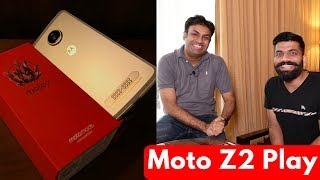 Moto Z2 Play Unboxing and First Look w Opinions