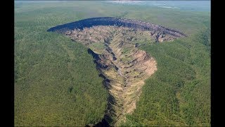 This Giant Crater Mysteriously Appeared Out Of Nowhere, And Locals Fear It's A Gateway To Hell
