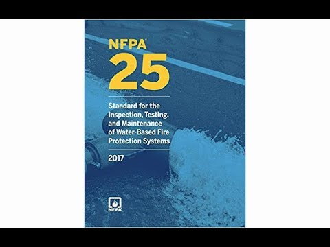 3- Q & A Session on Inspection, Testing and Maintenance and NFPA 25