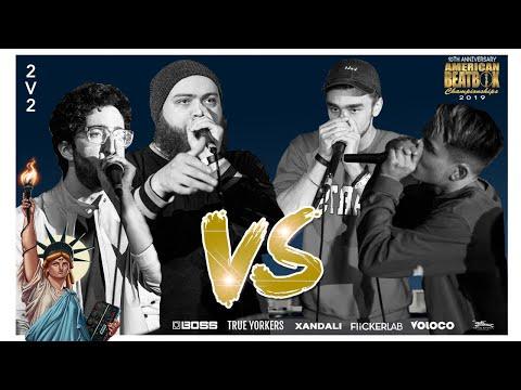 Dreamerz Vs Forest Fire | 2V2 Finals Battle | ABCX | American Beatbox Championships 2019